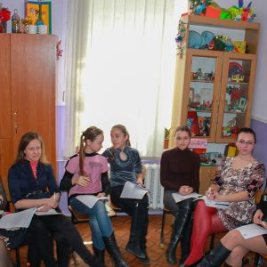 Workshop in Melitopol